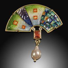 Arc Mosaic Pin/Pendant
