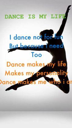 Dance is my life...