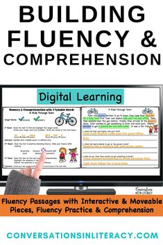 Decoding Multisyllabic Words & Building Fluency with Fluency Passages Improves Comprehension by using fluency Strategies for struggling readers, guided reading, and reading interventions. #firstgrade #secondgrade #thirdgrade #fourthgrade #fifthgrade #conversationsinliteracy #phonics #fluency #comprehension #classroom #elementary #fluencystrategies #anchorcharts #readinginterventions #guidedreading #sightwords 1st grade, 2nd grade, 3rd grade, 4th grade, 5th grade
