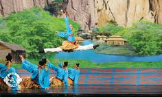 "Where did the brush come from? This dance is a glimpse into China's ""divinely inspired culture."" Photo: Legend of the Brush, 2009. #dance"