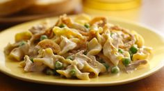 When comfort food calls, assemble this easy casserole with foods from your pantry and freezer. Tuna Recipes, Seafood Recipes, Pasta Recipes, Baking Recipes, Pillsbury Recipes, Pasta Meals, Meal Recipes, Entree Recipes, Yummy Recipes