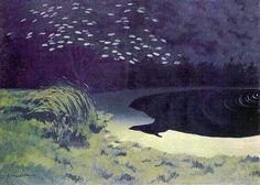 Felix Vallotton (1865-1925): The Pond
