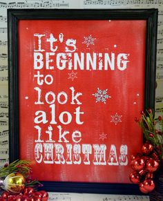 It's beginning to look like Christmas sign by Hudsonsholidays, $5.99