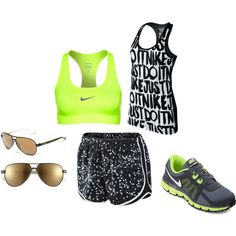 Nike Run - Polyvore