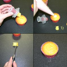 How-To Fill a Cupcake