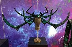 Hela headdress from Comic Con Guardians Of The Galaxy Vol 2, Peggy Carter, Star Lord, Dc Heroes, Queen, Marvel Movies, Marvel Dc, Thor, Just In Case