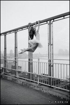 Модный фотограф Дэйн Шитаги и его «Балерины Нью-Йорка» / красивые картинки балерин