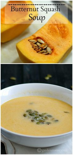 This butternut squash soup recipe is super easy to make and contains only a few ingredients. Perfect any time of year to make you feel warm and cozy.