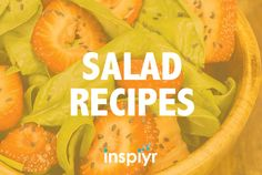 Salad Recipes on Pinterest | Salads, Kale Salads and Vinaigrette