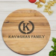 Personalised Bamboo Board - Family