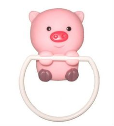 Pig Towel Ring