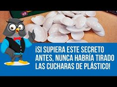 ¡Si Supiera Este Secreto Antes, Nunca Habría Tirado Las Cucharas De Plástico! - YouTube