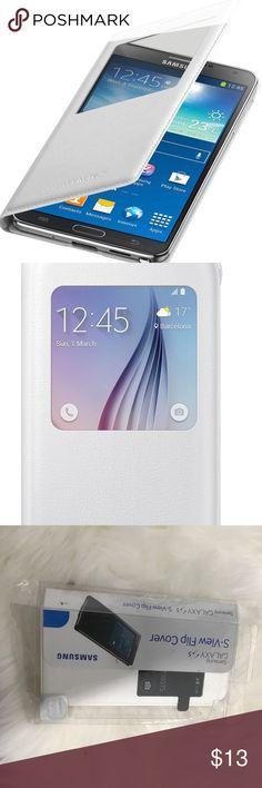 Samsung galaxy S if you flip cover Samsung galaxy S view flip cover new inbox white SAMSUNG Accessories Phone Cases