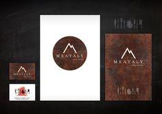 Cliente: MEATALY Milano -Logo e immagine coordinata -  #adv #brandidentity #marketing #creative #playadv #meat #milan #design