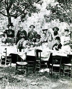 Garden party con Proust