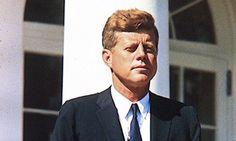 John F Kennedy. Photograph: Sipa Press/Rex Features.