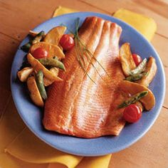 Roasted Salmon & Vegetables