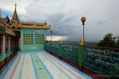 Sone Oo Pone Nya Shin Pagoda. Sagaing, Myanmar
