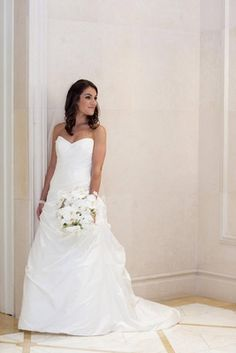Bride Robyn shines at her Terrace Room wedding in LEGENDS Romona Keveza gown L371 | Inside Weddings