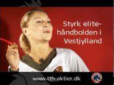 Youtube - håndball: Team Tvis Holstebro. Film og aktieprospekt med Proff Art reklamebureau.
