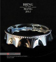 #54 Ruffle Bracelet $98 - Lia Sophia