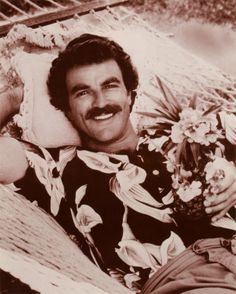 Oh there you are Mr Selleck.