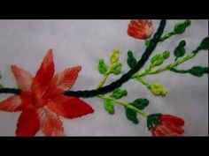 Hand embroidery for beginners | basic hand embroidery stitches tutorial - YouTube