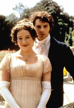 Oh,Pride and Prejudice miniseries, you must allow me to tell you how ardently I admire and love you.  The iconic BBC serial, directed by Simon Langton and starring Jennifer Ehle as Elizabeth Bennet and Colin Firth as Mr. Darcy, first aired its first episode 20 years ago, on Sept. 24, 1995 — which means, I hardly need point out, that the series is now the same age as its beloved heroine.