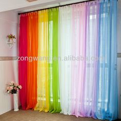 1000 Images About Curtains On Pinterest Rainbows