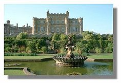 Culzean Castle - there are reports that a ghostly piper can be heard playing whenever one of the descendants of the original castle is about to marry. Also reported is an apparition of a woman in a ballgown - reports of her apparition date back as far as 1972 but her identity is unknown.