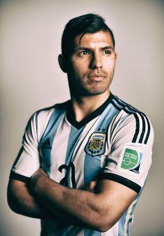 Sergio Aguero of Argentina NT Football Icon, World Football, Manchester City, Ankara Styles For Kids, Sergio Aguero, Kun Aguero, Premier League Champions, Son In Law, Football Pictures