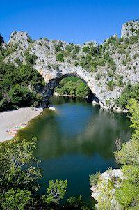 Le Pont d'Arc, Gorges de l' Ardèche, France