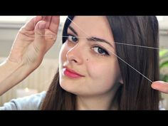 Threading | Facial Hair Removal Method - YouTube