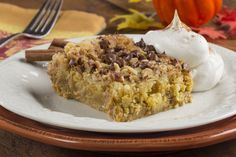 Satisfy your cravings for pumpkin cake with our recipe for Autumn Pumpkin Dump Cake. This easy dump cake recipe combines some of your favorite flavors of fall, so you can enjoy the season any time you want!
