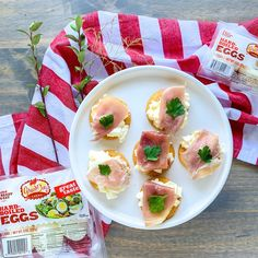 When was the last time you enjoyed something amazing on a cracker? @happyfamilyblog rocked our world with this incredible combo of prosciutto and egg salad! Tuna Salad, Egg Salad, Chicken Salad, Recipe Using Hard Boiled Eggs, Hard Boiled Egg Recipes, Dip Recipes, Salad Recipes, Snack Recipes, Snacks