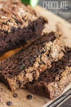 The BEST chocolate zucchini bread you will ever have! 1 cups hidden inside and is a great way to use up that zucchini! Chocolate Zucchini Bread, Zucchini Bread Recipes, Recipe Zucchini, Tasty Kitchen, Betty Crocker, Cake Recipes, Dessert Recipes, Desserts, Brunch Recipes