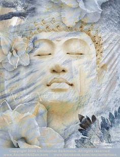 Inner Infinity  8x10 Open Edition Buddhist Art by ancientartizen, $25.00