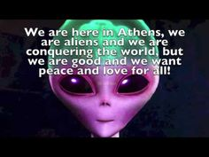 Aliens will save the world?