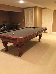 Thomas Arron Pool Table, SOLD