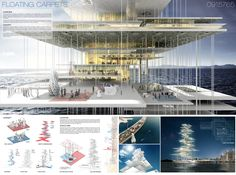 [AC-CA] International Architectural Competition - Concours d'Architecture | [DUBAI] Architecture School Tower