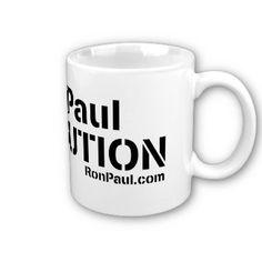 Ron Paul Revolution Mug