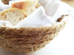 Natural sisal bowl. whatwouldmamiedo.com