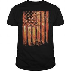 Awesome Tee Hunting Flag Cool T shirts