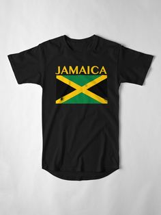 Great for repping the country you love. See and colour and size when you click the link Jamaica Flag, Large Prints, Tshirt Colors, Colour, Country, Link, Mens Tops, Cotton, T Shirt