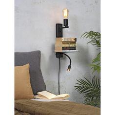 It's about Romi Florence wandlamp met leeslamp | FLINDERS Decor, Furniture, Floating Nightstand, Floating, Table, Home Decor, Nightstand, Small