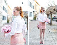Waist Skirt, High Waisted Skirt, Mini Skirts, Flower, Box, Fashion, Moda, High Waist Skirt, Snare Drum