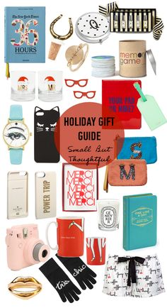 Holiday Gift Guide: Small But Thoughtful