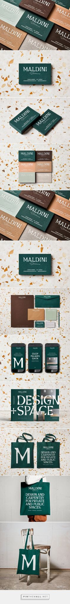 Maldini Studios Interior Design Branding by Jens Nilsson | Fivestar Branding Agency – Design and Branding Agency & Curated Inspiration Gallery  #interiordesignbranding #branding #brand #design #designinspiration