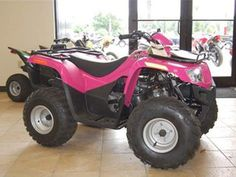 Used 2008 #Arctic_Cat_Pink_Four_Wheeler_ATV in #Alachua @ http://www.atvjunction.com/