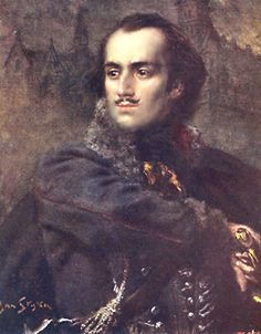 Count Casimir Pulaski, hero of Polish nationalism and of the American Revolution. He died after being mortally wounded at the Battle of Savannah and is (probably) buried at the base of his monument in Monterey Square.